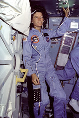 Ride on the Middeck (NASA on The Commons) Tags: challenger airlock sallyride middeck sts7