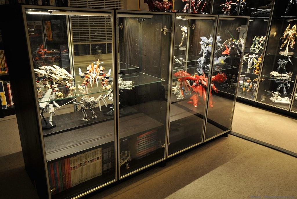 Gunpla Display Cabinet 3 With A Vengeance Otaku Revolution