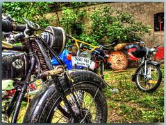 Oldtimertreffen in Schöneiche bei Berlin - BA (Peterspixel from Peter Althoff) Tags: bmw motorcycle dnepr bsa nsu simson motorrad ifa zündapp motocyclette мотоцикл днепр birminghamsmallarmscompany wehrmachtsgespann awo425 nsumotorenwerke