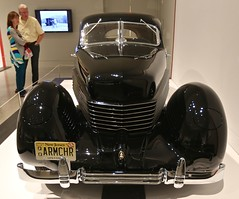1936 Cord 810 Beverly (Bill Jacomet) Tags: museum 1936 cord texas steel tx fine arts houston beverly 36 sculpted mfah in 2016 810 of