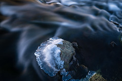 (dawvon) Tags: longexposure travel ice nature water rock stone river landscape iceland europe south nordic sland vk reynisfjara suurland reynisfjall vkmrdal southernregion republicoficeland reynisfjallmountain lveldisland reynisfjarabeach