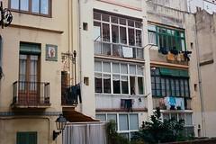 Patio (davidgarciadorado) Tags: barcelona spain sarria olympus35sp kodakektar 125film