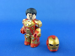 Ironman Mark XLII (sculpted by Breakthrough Army) (jeffer8419) Tags: army lego ironman custom breakthrough minifigure