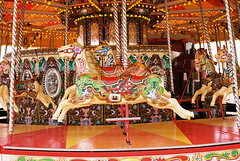 Carousel (pp agrippa) Tags: england film sussex jessica carousel analogue 45mm planar technicolour carlzeiss contaxg1 brightonandhove portra160 realraw