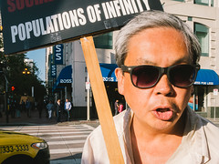 Populations of Infinity (jeffm211) Tags: sanfrancisco sign marketstreet frankchu