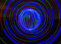 Tunnel vision. (Nikolas Fotos) Tags: longexposure lightpainting orb sphere lichtmalerei lightart longexposurephotography llightpainting lightpaintingphotography peintureclaire