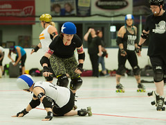 IMG_0453 (clay53012) Tags: ice team track flat arena madison skate roller jam derby league jammer mrd bout flat wftda derby womens track hartmeyer moocon2016