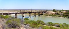 dsc04062 - dsc04063 (space lama) Tags: darlingriver darling river menindee lakes motorcycling panorama hugin bridge