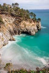 Alone beach paradise (Nicolas Reggiani) Tags: longexposure seascape beach bretagne breizh plage crozon littoral poselongue