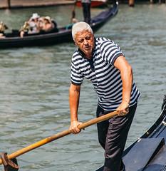 Gondolier on the Grand Canal (jim.c.martin) Tags: venice italy gondola grandcanal gondolier