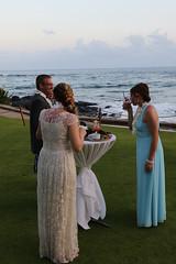 Eric, Tiffany, and Lindsay At The Reception (fethers1) Tags: kauai beachhouserestaurant kauaivacation2016 ericandtiffanyswedding