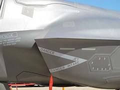 "Lockheed F-35B Lightning II 11 • <a style=""font-size:0.8em;"" href=""http://www.flickr.com/photos/81723459@N04/26948381675/"" target=""_blank"">View on Flickr</a>"