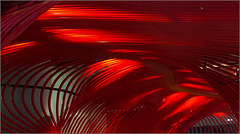 Vienna : Abstraction [In explore] (Herv Marchand) Tags: red details curves abstraction vienne courbe minimalisme