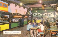 Butlins Bognor Regis - Blinking Owl Bar (trainsandstuff) Tags: butlins bognorregis holidaycamp postcard vintage retro old history archival holidaycentre
