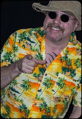 Hawaiian a shirt. (CWhatPhotos) Tags: pictures camera summer sun holiday man color colour male colors hat shirt that lens beard fun photography foot prime hawaii goatee glasses cool shoes colours foto bright image artistic time pics pair hula picture hats pic olympus images shades wear ox have mans photographs photograph ii fotos mens hawaiian colored coloured which 45mm mk multi contain omd hawai hol hawiian em10 cwhatphotos