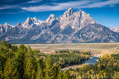 Snake River Overlook (Margan Zajdowicz) Tags: mountain field skyline digital landscape nationalpark outdoor availablelight snakeriver serene mountainside grandteton mountainpeak zajdowicz