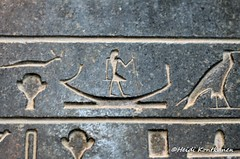 Hieroglyphs on the Pyramidion (konde) Tags: art pyramid capstone hieroglyphs basalt ancientegypt hawara pyramidion cairomuseum middlekingdom 12thdynasty amenemhatiii