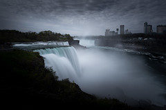 Falls (Draws_With_Light) Tags: camera mist canada water america river season landscape waterfall spring places scene niagara cliffs slowshutter filters efs1022mmf3545usm niagaracounty lee09ndhardgrad leebigstopper davidhopley canoneosm