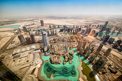 View From The Burj Khalifa Dubai (Alfonsina Monachino-Stevenson) Tags: travel dubai uae unitedarabemirates sights atthetop 2015 burjkhalifa theaddressdowntowndubai