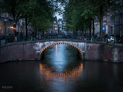 Amsterdam Twilight (Nick Nieto) Tags: travel holland amsterdam europe thenetherlands emperorscanal keizersgrachtcanal