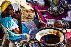 Baiana de Acaraj (Leo Teles) Tags: africa brazil food black contrast bahia salvador tradition rms acara africanfood acaraje