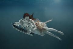 Loreley (Katja Kemnitz) Tags: water ship underwater mermaid nixie