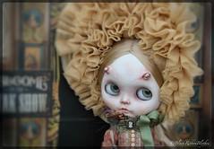 """Latest custom Blythe """"Pippa"""" (Helen CW - Black Ribbon Blythes) Tags: blythe blythedoll artistdoll ooakdoll customdoll customblythedoll gothicdoll ooakblythedoll blackribbonblythes artistblythedoll gothicblythedoll blythecustomiser"""