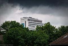 Der Ruhr TURM (Christian P. - Steher82) Tags: tree tower essen outdoor sony sigma architektur ruhr ruhrgebiet baum gebude hochhaus esser stadtessen a6000 ruhrturm sonya6000