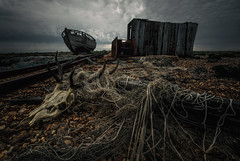 down on the beach (stocks photography.) Tags: beach coast photographer dungeness downonthebeach michaelmarsh