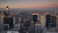 sunset from top of the rock (twurdemann) Tags: city newyorkcity winter sunset sky urban newyork architecture clouds buildings unitedstates centralpark manhattan horizon aerial tourists uptown upperwestside hudsonriver february topoftherock 30rock observationdeck gracebuilding 30rockefellerplaza 70thfloor 16x9crop procontrast 06ndhardgrad gnd2h xf1855mm leeseven5 fujixt1 2016tripnewyork