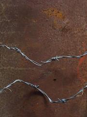 IMG_6879 (NapoleonIsNotDead) Tags: shadow abandoned thread dark weird iceland wire rust iron gloomy farm creepy materials feelings obscure selfoss