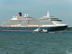 Queen Victoria (DDHPhotography) Tags: travel cruise ferry photography boat waterfront ships vessel hampshire panasonic transportation southampton cunard cruiseships hythe