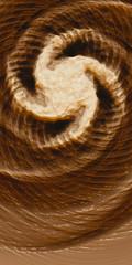 Milk Effects No4 (Matt Lindley) Tags: brown coffee spiral screw waves cream blender twisting dynamicpaint