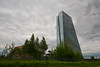 Europäische Zentralbank mit Großmarkthalle in Frankfurt (mercatormovens) Tags: europäische zentralbank ezb neubau frankfurt grosmarkthalle frankfurtammain city stadt