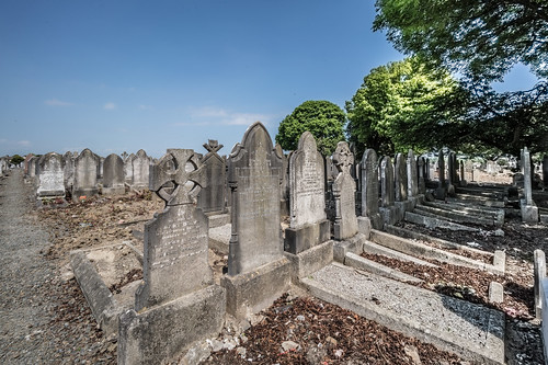 MOUNT JEROME CEMETERY AND CREMATORIUM IN HAROLD'S CROSS [SONY A7RM2 WITH VOIGTLANDER 15mm LENS]-117115
