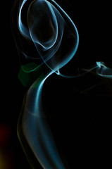 Smoke Test Mk.I (D1g1tal Eye) Tags: abstract blackbackground 50mm nikon bokeh smoke f18d niftyfifty yongnuo d7000 565ex