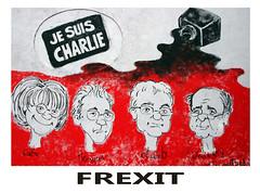 FREXIT (Theah-Photos) Tags: france politics cartoon divorce charliehebdo jesuischarlie brexit frexit