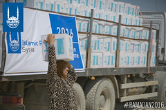 Islamic Relief's Ramadan food distribution in Syria