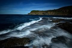 Backwash (Paul Hollins) Tags: ocean longexposure seascape seaside nikon waves australia d750 newsouthwales aus f4 freemans 1635 catherinehillbay watermovement frazerpark nikon1635mmf4 nikond750