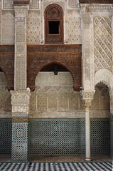 Fes El Bali Morocco-Medersa el Attarine.1-2016 (Julia Kostecka) Tags: morocco fes madrasa medersa feselbali medersaelattarine