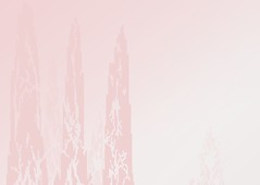 Fallen Monoliths (Autumn's Lull) Tags: pink urban white mist abstract fog buildings grey heart time fallen pixelart veins decaying curse monoliths abyss spreading dystopia consuming krita bygone succumb