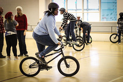 IMG_5621edit (Philadelphia Parks and Recreation) Tags: santa family winter holiday kids event giveaway adults westphilly pinkbike district8 pumptrack carouselhouse sharetheride