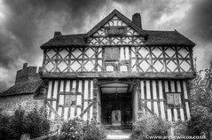 Stokesay Castle 3 ways (anniew69) Tags: uk greatbritain england blackandwhite bw building castle monochrome photography blackwhite nikon europe shropshire britishisles unitedkingdom britain may palace medieval british hdr highdynamicrange hdri manorhouse edifice edifices stokesay 2016 englishheritage travelphotography stokesaycastle photomatix shropshirehills photographytechnique d7000 medievalmanorhouse laurenceofludlow anniewilcox wwwanniewilcoxcouk anniew69