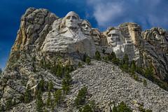 The Big Four--DSC00402--Mount Rushmore, South Dakota (Lance & Cromwell back from a Road Trip) Tags: southdakota sony roadtrip nationalparkservice mountrushmore rocksculpture 2016 sonyalpha mountrushmoresd