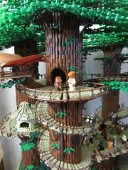 Ewokdorf - Flugplattform (KW_Vauban) Tags: starwars lego endor ewokvillage episodevi thereturnofthejedi