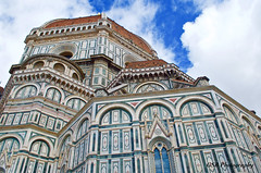 Cattedrale di Santa Maria del Fiore (GSB Photography) Tags: italy history church architecture clouds florence nikon 500v20f cathedral faith gothic perspective 100v10f unescoworldheritagesite dome historical firenze christianity duomo renaissance brunelleschi basillica d60 1500v60f 250v10f autoremovedfrom10to25faves