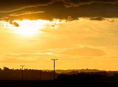 Top to Bottom (ajecaldwell11) Tags: light sunset newzealand sky silhouette clouds dusk powerlines napier hawkesbay