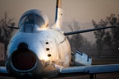 Jolly Roger and his Moody Sabre (hotdog.aviation) Tags: planesoffame f86sabre aviation planesoffameairshow f86 sabre jollyroger