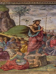 santa maria novella florence 191 (Walwyn) Tags: italy florence fresco renaissance wallpainting johnthebaptist ghirlandaio