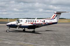 Beech B200GT King Air, ZK459 / X (WestwardPM) Tags: beechcraft beech raf kingair royalairforce newquayairport b200gt zk459 cornwallairportnewquay